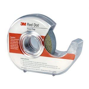 3M Prep Skin Red Dot Sand Paper Tape