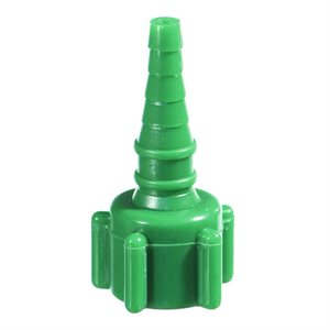 "Oxygen Tubing ""Christmas Tree Connector"" Non-Swivel, Qty 10"