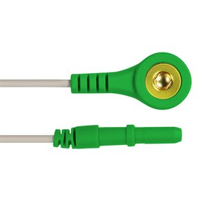 """KING Snap Lead / DIN Connector Qty 5, 2.0m (80"""") 5 Colour, R / W / BL / BR / G"""