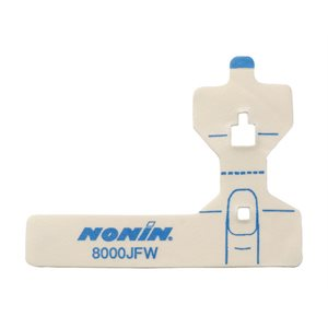 NONIN FlexiWrap Sp02 Sensor Adult 8000JFW 25 / bag for use w / 8000J only